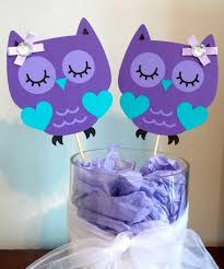 purple owl baby shower decorations purple and teal baby shower decorations baby showers ideas