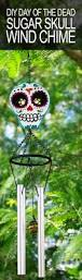 Wind Chimes Diy by Diy Day Of The Dead Sugar Skull Wind Chime Growing Up Bilingual