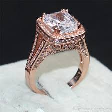 wedding rings luxury images 2018 fashion jewelry 925 silver 14kt rose gold filled rings jpg