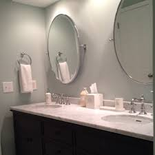 Restoration Hardware Bathroom Vanity by Double Vanity Faucets Oval Pivot Mirrors And Bath Accessories