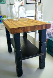 kitchen island furniture kitchen rectangular shaped two tone