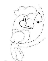 tracing line worksheet for preschoolers 9 funnycrafts