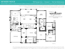 Single Story House Floor Plans Seaside Ridge Floor Plans