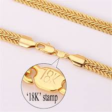 trendy gold chain necklace images Trendy gold plated wide necklace bracelet women jewelry set souq jpg