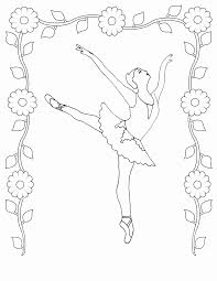 free printable ballet coloring pages coloring