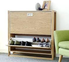 oak shoe storage a shoe storage bench seat made of oak solid oak