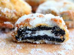 deep fried oreos just like the state fair restless chipotle