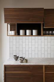 Kitchen Backsplash Tile Ideas by Best 25 Walnut Kitchen Cabinets Ideas On Pinterest White
