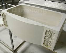 Concrete Kitchen Sink by Concrete Farm Sink U2013 Custom Design Trueform Decor