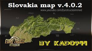 Slovakia Map Slovakia Map V 4 0 2 For Ets 2 Youtube