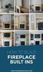 How To Build Fireplace Mantel Shelf - how to design and build gorgeous diy fireplace built ins the