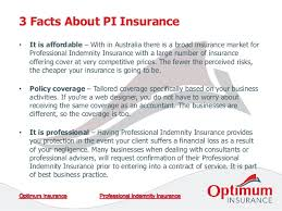 3 facts about pi insurance that you should