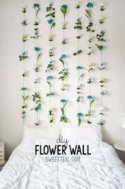 crafts for bedroom best diy room decor ideas for teens and teenagers diy flower wall