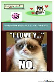 Grumpy Cat Meme Love - grumpy cat sees no love by lilmisszv meme center