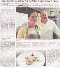 meilleur apprenti de cuisine celia médaille d or du concours régional pour le meilleur