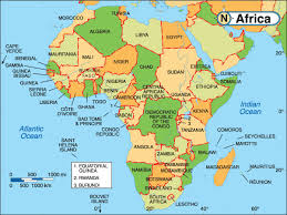 africa map 54 countries map of africa 54 countries africa map