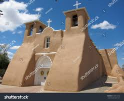 adobe house ancient adobe house taos pueblo new stock photo 119811238