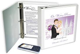 wedding planner notebook lds wedding planning tools lds wedding planner