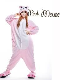 Minion Womens Halloween Costume Size Pink Mouse Halloween Costumes Women Carnival