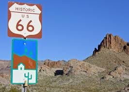 Route 66 Arizona Map by Route 66 Wandering Through Time And Place
