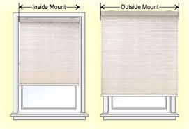Installing Window Blinds Outside Mount Mounting Blinds Inside Window The Best Blinds For Certain Types