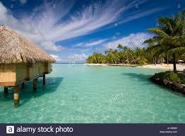 overwater bungalow pearl beach resort bora bora lagoon french