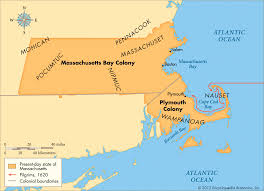 Map Of Massachusetts by Map Of Massachusetts Bay Colony Montana Map