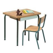 bureau vintage enfant bureau et chaise d école vintage anatole
