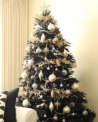 black christmas trees midnight black christmas tree treetopia