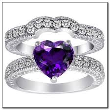 amethyst engagement ring sets best 25 amythest ring ideas on jewls and jems pretty
