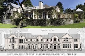 stone mansion alpine nj floor plan jordan rosenberg architect u0026 associates the frick estate