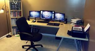 Best Computer Desk Setup Desk Amazing Gaming Desk Setup Bright Gaming Computer Desk One