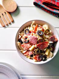 italian pasta salad atozrecipechallenge la cocina de leslie