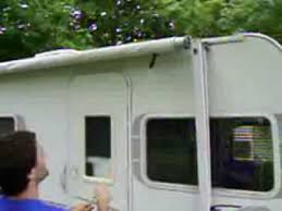 Caravan Retractable Awnings How To Setup Retractable Rv Awning Part 1 Of 2 Youtube