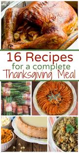 if you are looking for thanksgiving meal ideas and recipes