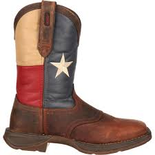 durango men u0027s patriotic pull on texas flag western boot