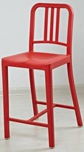 Bar Stool With Backrest Emeco Navy Bar Stool Foter