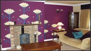 how to use purple in stunning looking living rooms living room full size of living room brown wood varnished cabinet with glass doors flower wall mural