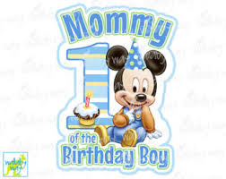 mickey mouse 1st birthday mickey 1st birthday etsy