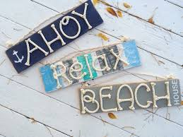 themed signs distressed themed signs nautical wood sign coastal