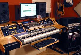 diy recording studio desk diy studio desk plans custom fit for your needs ledger note in music