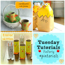 easter craft ideas tuesday tutorials crafts on sea