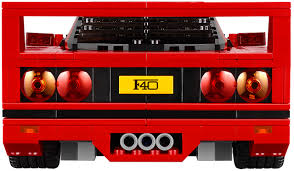 lego ferrari f40 lego ferrari f40 is plastic fantastico w video