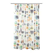 Teal Curtains Ikea Doftklint Shower Curtain Ikea
