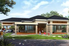 best one story house plans single storey house plans best one