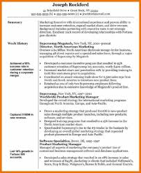 Resume For Marketing And Sales 10 Resume Objective For Marketing Budget Reporting