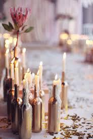 bougeoir mariage bougeoir bouteille idées diy idée déco table