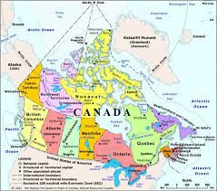 map of us and canada ottawa capital city of canada high