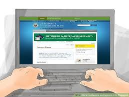3 ways to renew an expired u s passport wikihow