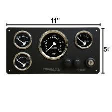 yanmar vdo gauge panel allentare serires 11 u2033 x 5 3 4 u2033 u2013 ac dc